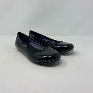Dr. Scholl's Faux Leather Patent Ballet Flats Sz 7